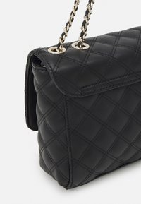 Guess - CESSILY CONVERTIBLE XBODY FLAP - Across body bag - black - 3