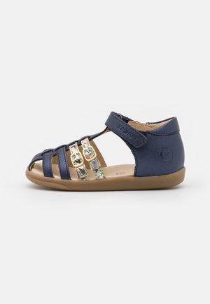 PIKA SPART - Sandals - navy/platine