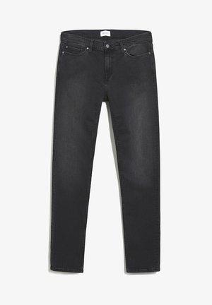 SLIM FIT DENIM IAN BLACK - Slim fit jeans - used black