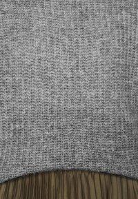 Even&Odd - ROLL NECK JUMPER - Svetr - mottled grey - 6