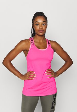 ELASTKIA - Sports shirt - hyper pink/black