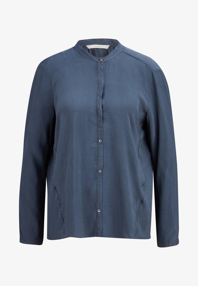 Button-down blouse - graphit