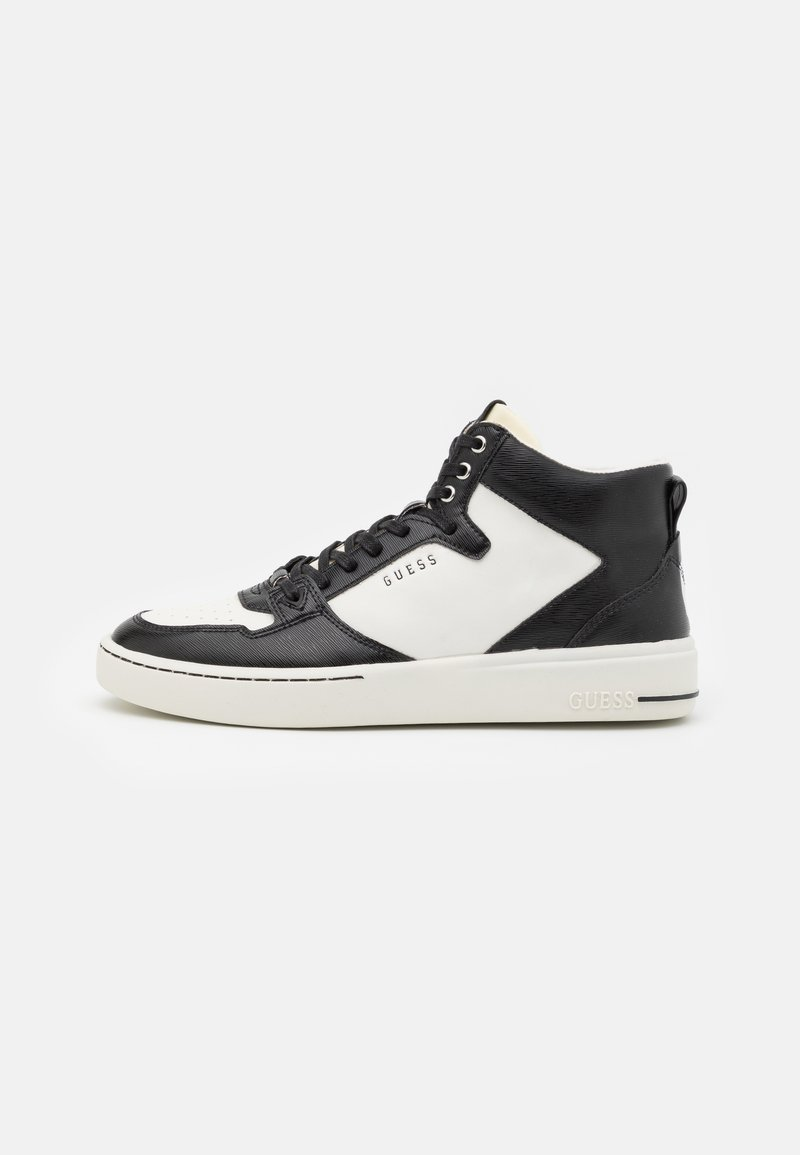 Guess - VERONA MID SPORT - High-top trainers - white/black