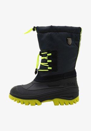 AHTO WP UNISEX - Winter boots - black blue