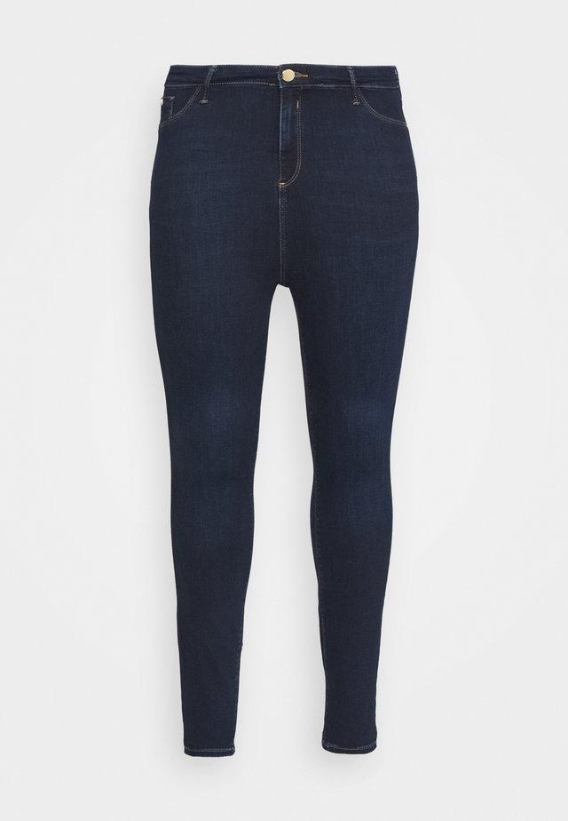 Jeans Skinny Fit - denim dark