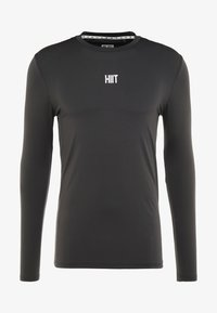 HIIT - CORE MUSCLE TEE - T-shirt à manches longues - charcoal - 3