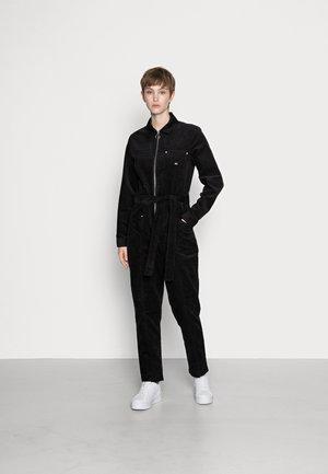 ZIP BOILERSUIT - Overall / Jumpsuit /Buksedragter - black