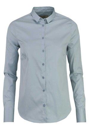 Button-down blouse - grün - petrol