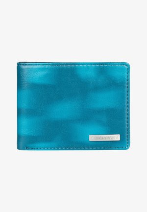 Wallet - blue coral
