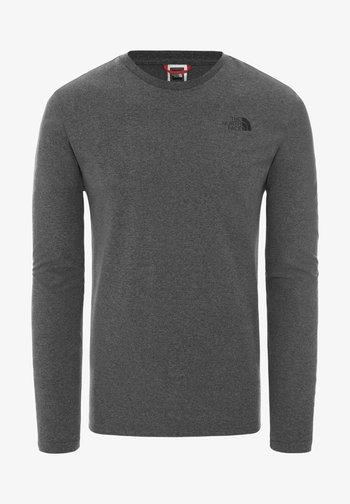 M L/S EASY TEE - EU - Long sleeved top - medium grey
