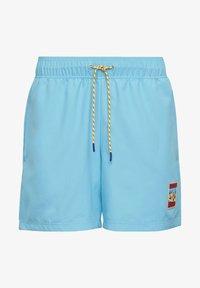 adidas Originals - ADIPLORE WOVEN SHORTS - Plavky - turquoise - 7