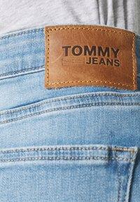 Tommy Jeans - Denim shorts - light-blue denim - 4