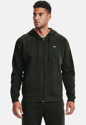 RIVAL  - Zip-up hoodie - baroque green