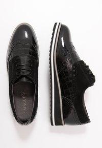 Caprice - Šněrovací boty - black - 3