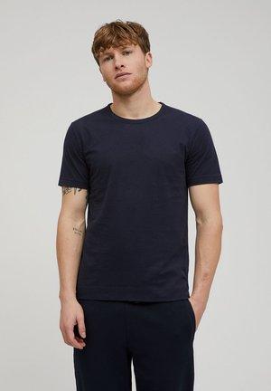 AANTONIO - Basic T-shirt - depth navy