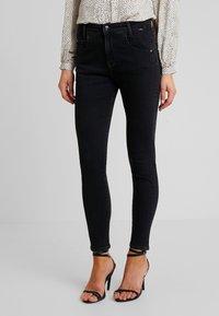 Mavi - ADRIANA - Jeans Skinny Fit - black denim - 0