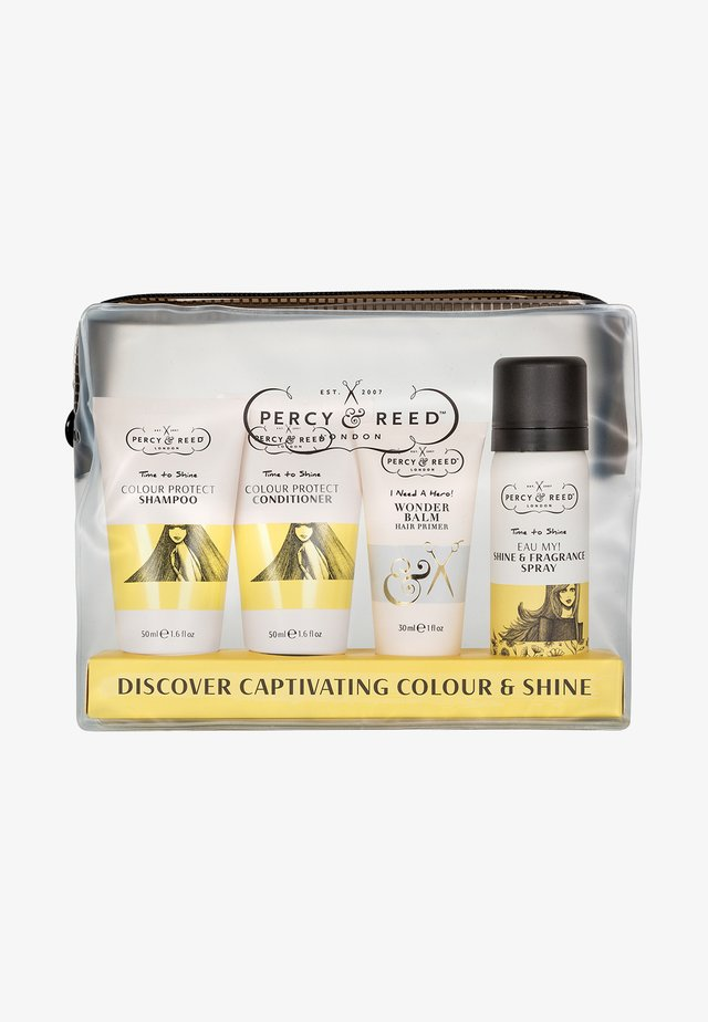 DISCOVER CAPTIVATING COLOUR & SHINE - Hair set - -