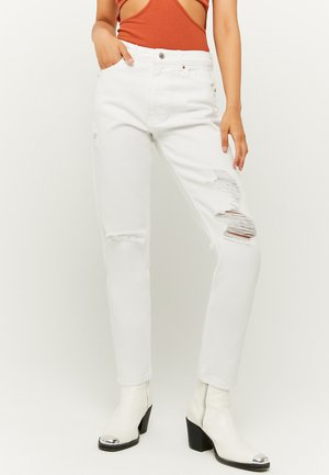 Relaxed fit jeans - whi00