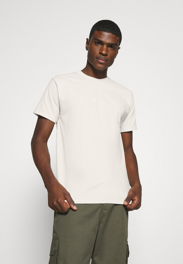 NOVEL - T-shirts print - cream