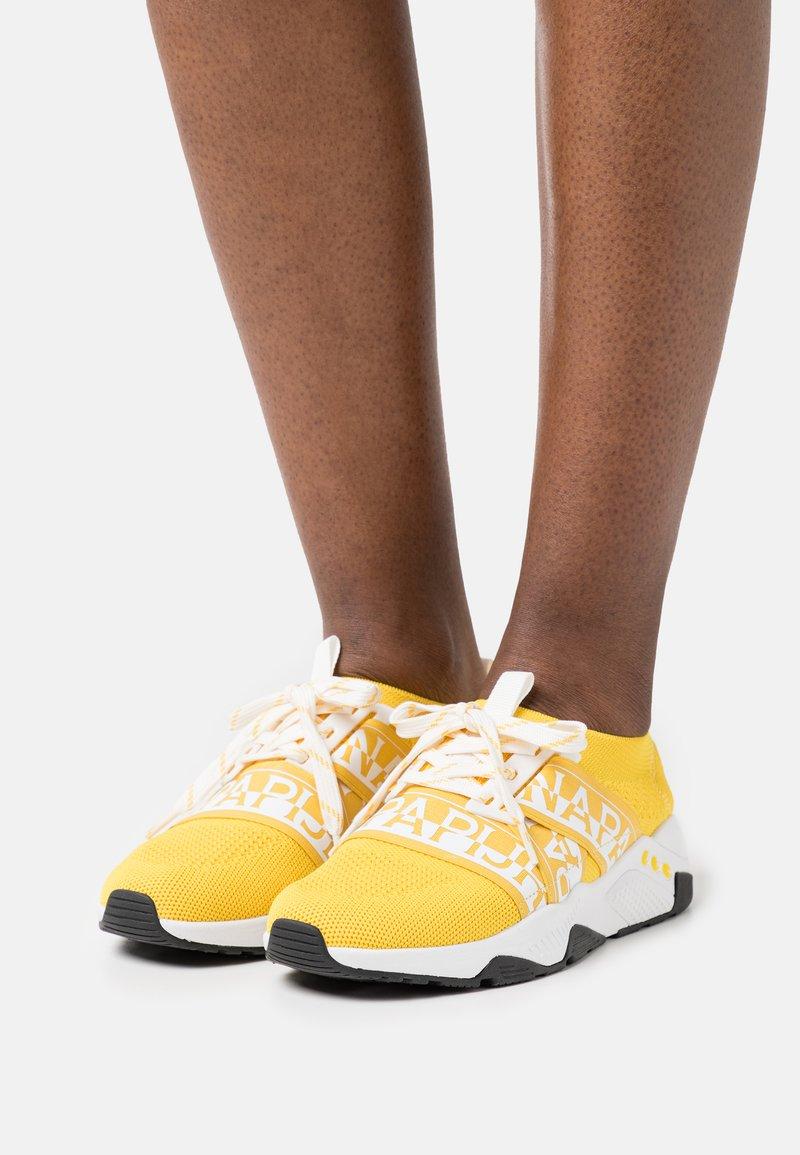 Napapijri - LEAF - Sneakers - freesia yellow