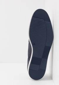 Pier One - LEATHER - Chaussures à lacets - dark blue - 4