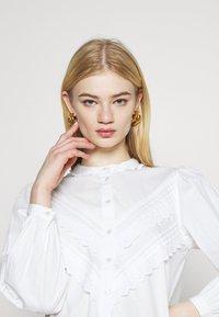 JDY - JDYMUMBAI LIFE - Shirt dress - white - 4
