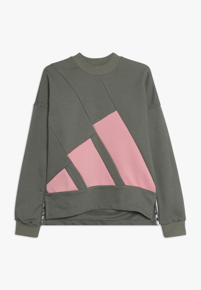 adidas Performance - CREW - Sweatshirt - khaki