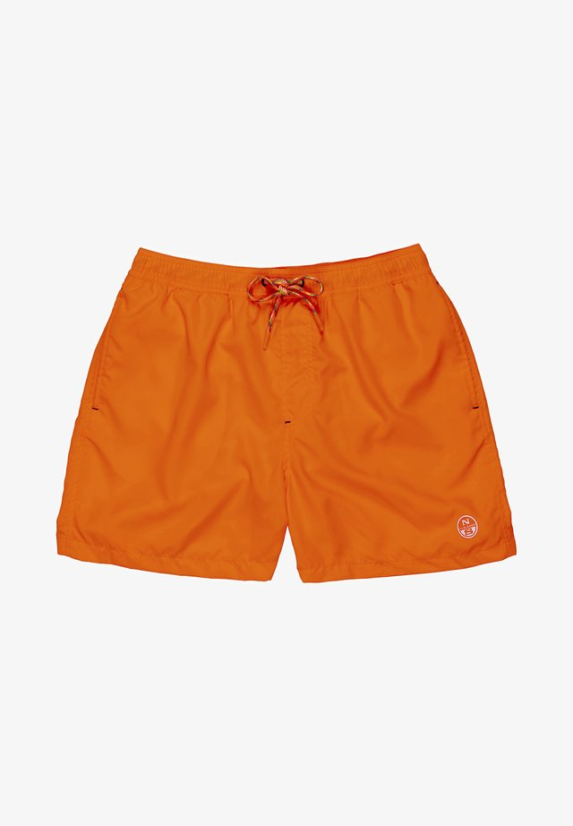 Short de bain - orange fluo