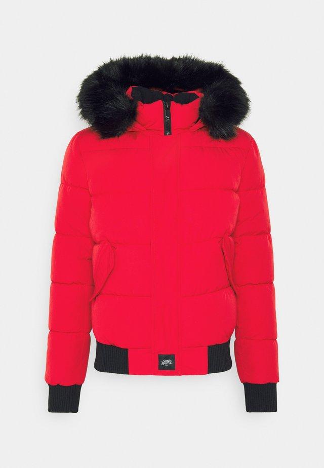 IRRIDESCENT - Winterjas - red/black