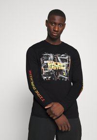 Only & Sons - ONSBTTF TEE - Long sleeved top - black - 3