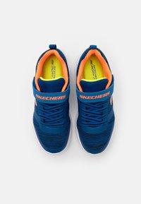 Skechers - BOUNDER - Trainers - blue/black/orange/lime - 3