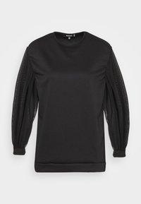 Missguided Petite - TULLE SLEEVE  - Sweatshirt - black - 5