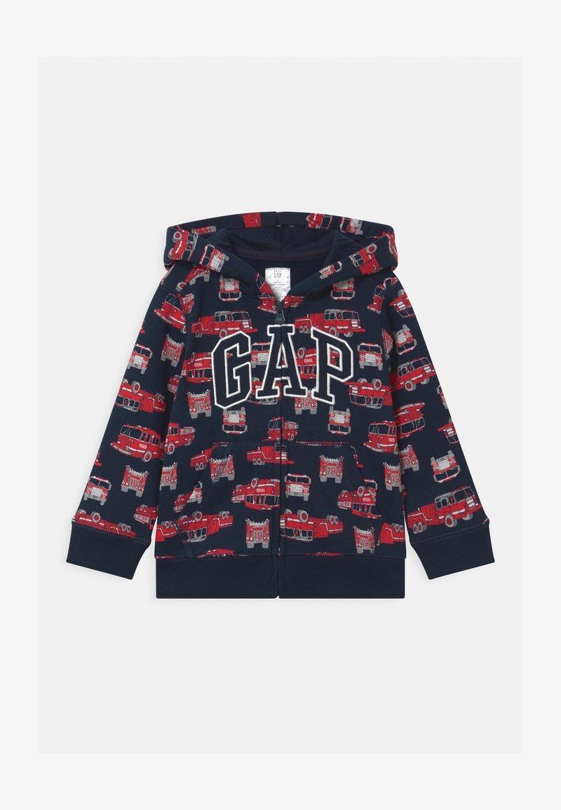 GAP - TODDLER BOY LOGO  - Zip-up hoodie - dark blue
