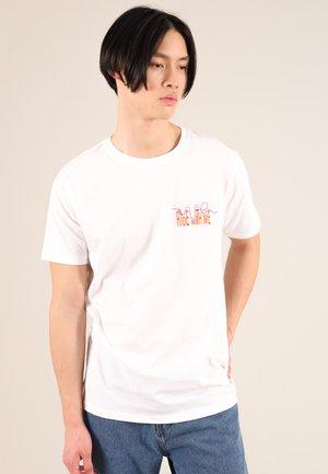 ROLLER COASTER - T-shirt print - white