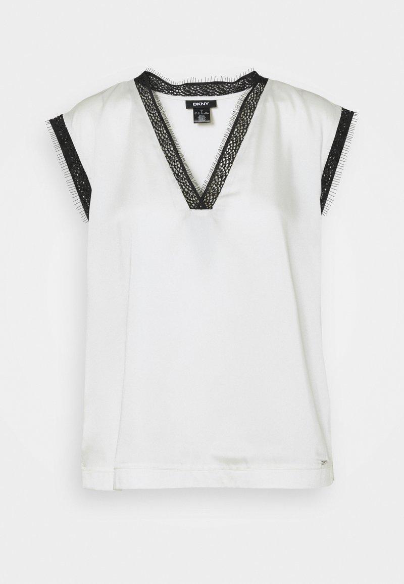 DKNY - T-shirt imprimé - ivory