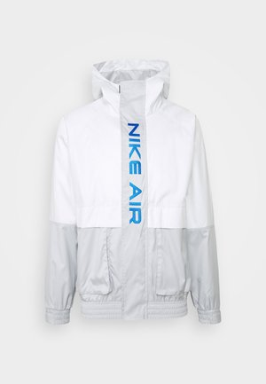 AIR  - Veste imperméable - grey fog/summit white/signal blue