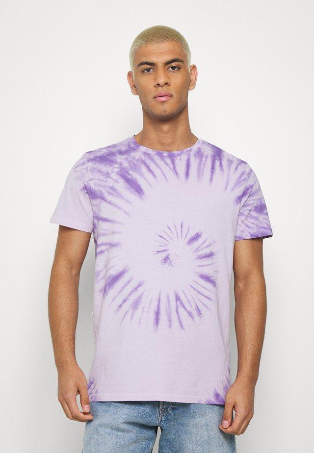 RRCARSON TEE - T-shirt med print - pastel lilac