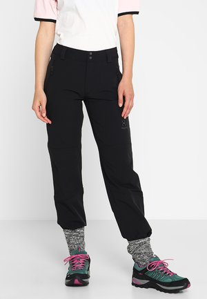 MORÄN PANT WOMEN - Outdoor trousers - true black