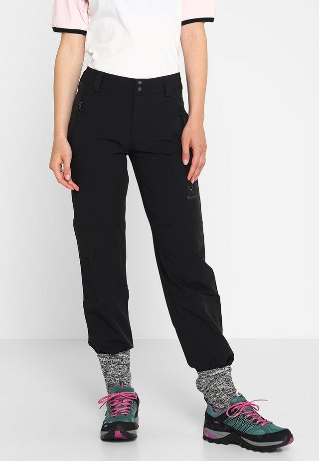 MORÄN PANT WOMEN - Outdoor trousers - true black
