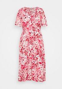 ONLY Carmakoma - CARENOLA MIDI DRESS - Shirt dress - high risk red - 0