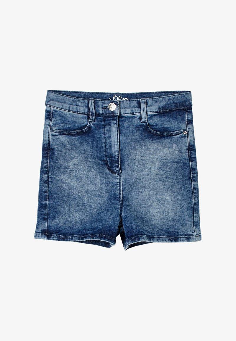 s.Oliver - Jeans Shorts - light blue