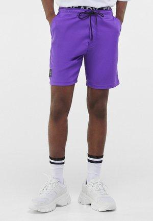 Tracksuit bottoms - dark purple