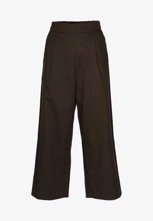 LOUNGE - Pantaloni - dark brown