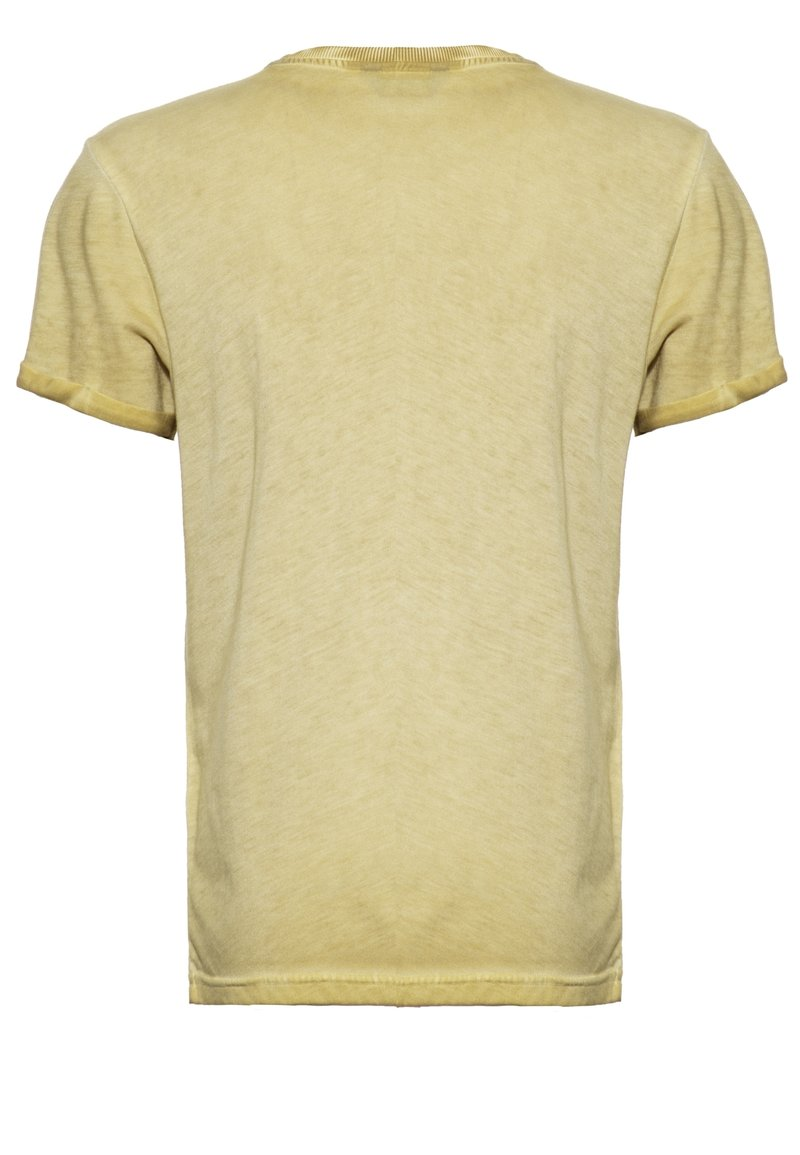 King Kerosin T-Shirt print - curry/camel pqY4p4