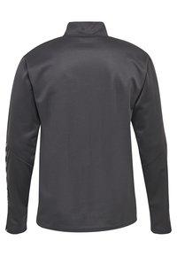 Hummel - HMLAUTHENTIC - Sweatshirt - asphalt - 1