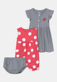 Carter's - DOT SET - Overal - pink/dark blue - 0