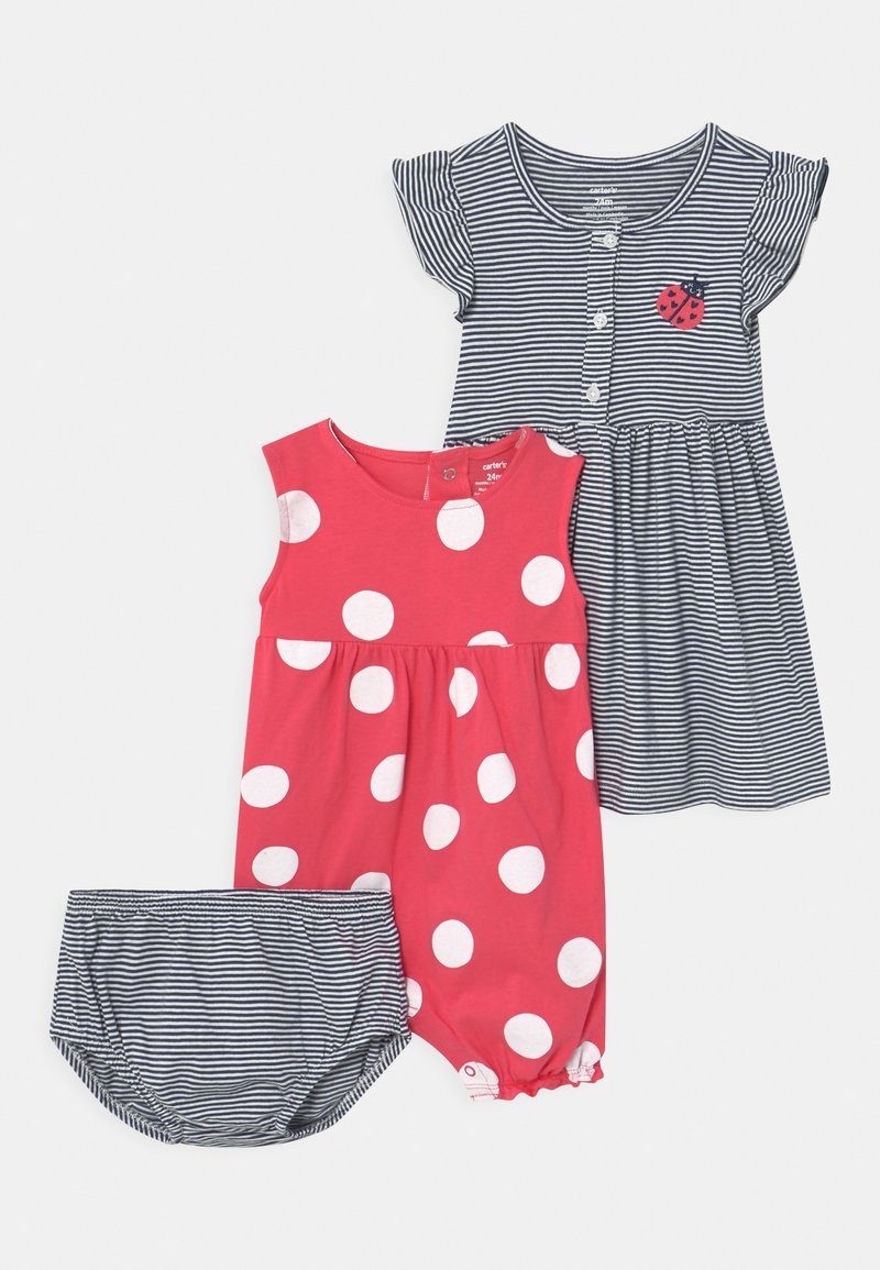 Carter's - DOT SET - Overal - pink/dark blue