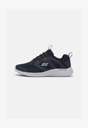BOUNDER DEGREE - Sneakers basse - navy/red