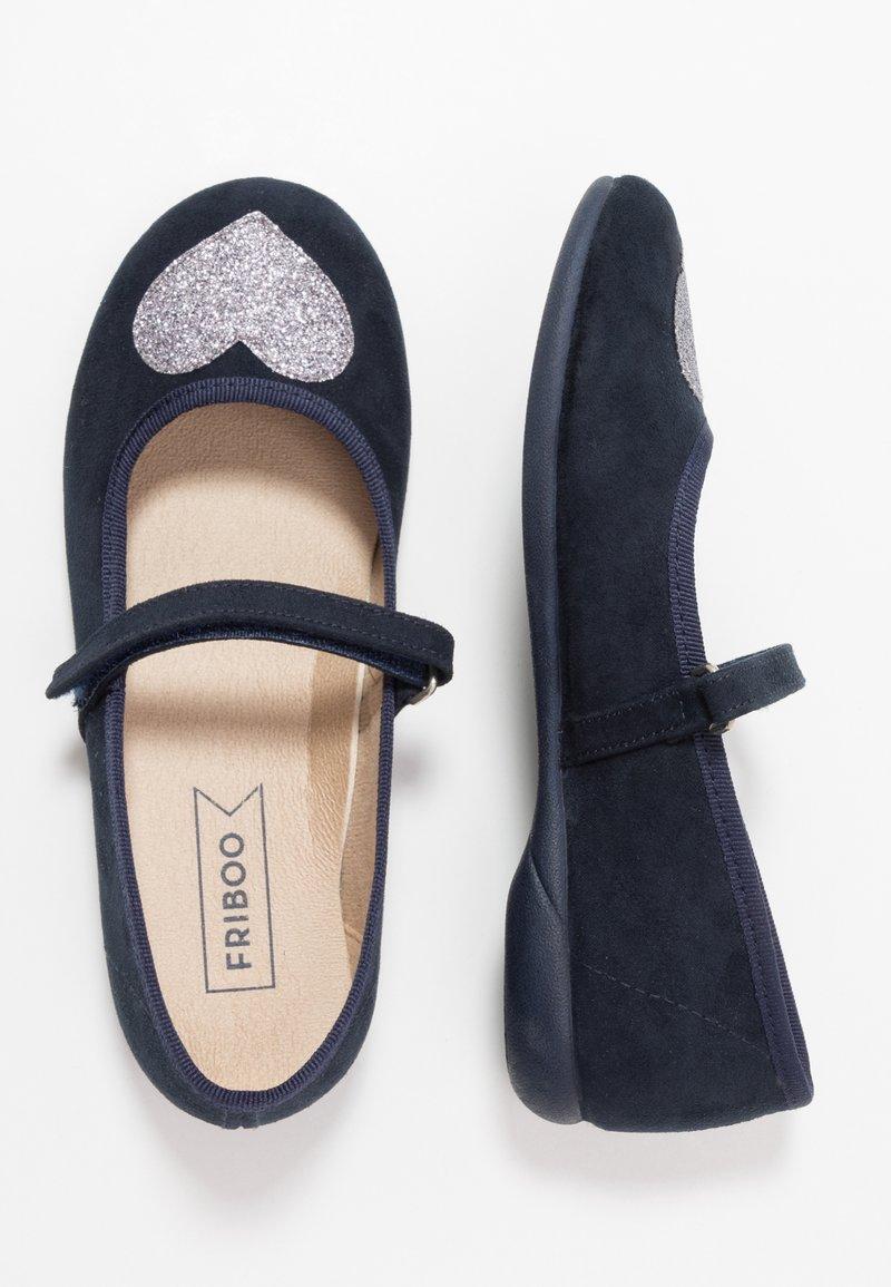 Friboo - Ankle strap ballet pumps - dark blue