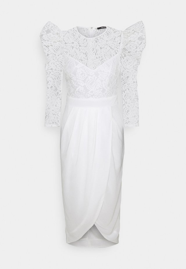 THEMA MIDI - Cocktail dress / Party dress - white